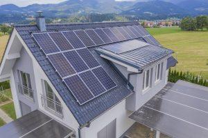 Panel solar aislado componentes